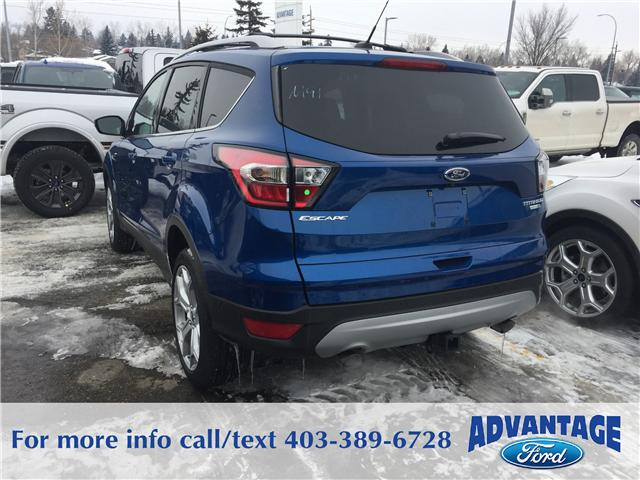 2017 Ford Escape Titanium (Stk: H-1710) in Calgary - Image 3 of 5