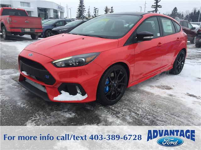 2018 Ford Focus RS Base (Stk: J-002) in Calgary - Image 1 of 6