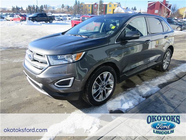 2017 Ford Edge Titanium (Stk: B82996) in Okotoks - Image 1 of 22
