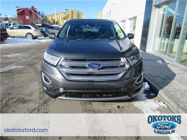 2017 Ford Edge Titanium (Stk: B82996) in Okotoks - Image 2 of 22