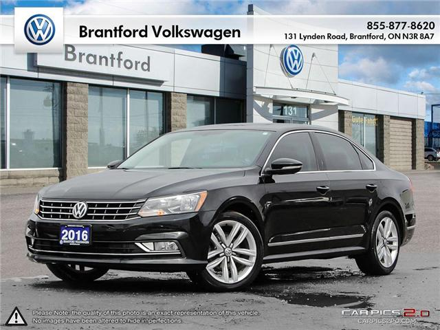 2016 Volkswagen Passat 1.8 TSI Highline (Stk: VC019464A) in Brantford - Image 1 of 27