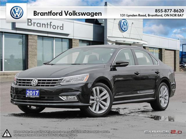 2017 Volkswagen Passat 1.8 TSI Highline (Stk: T18089A) in Brantford - Image 1 of 27
