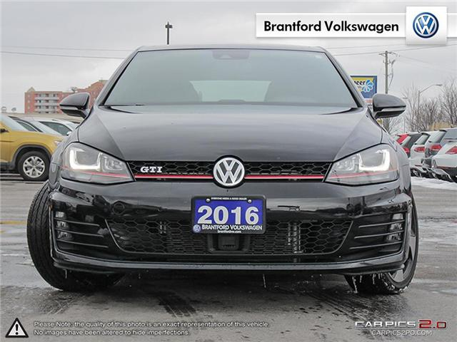 2016 Volkswagen Golf GTI 3-Door Autobahn (Stk: VC14674A) in Brantford - Image 2 of 27