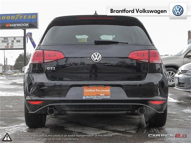 2016 Volkswagen Golf GTI 3-Door Autobahn (Stk: VC14674A) in Brantford - Image 5 of 27
