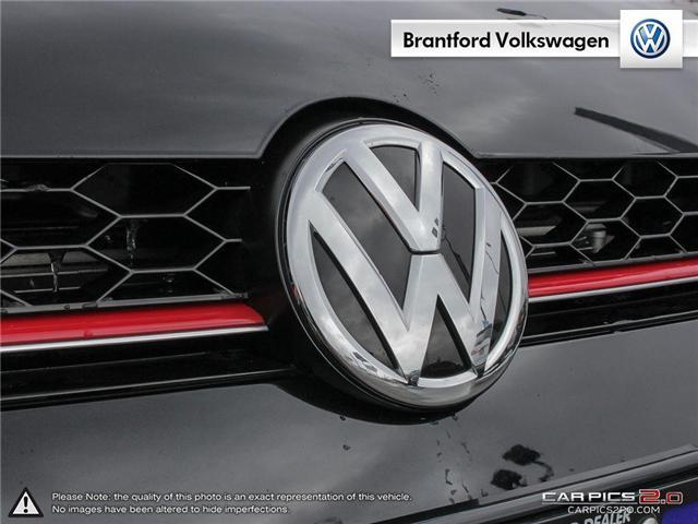 2016 Volkswagen Golf GTI 3-Door Autobahn (Stk: VC14674A) in Brantford - Image 9 of 27