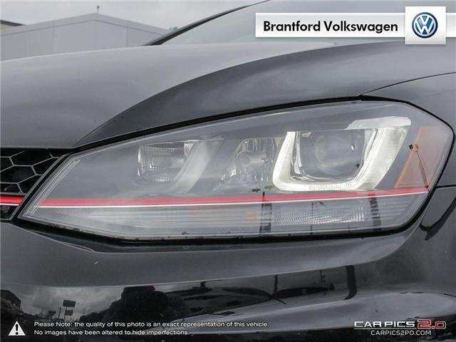 2016 Volkswagen Golf GTI 3-Door Autobahn (Stk: VC14674A) in Brantford - Image 10 of 27