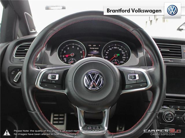 2016 Volkswagen Golf GTI 3-Door Autobahn (Stk: VC14674A) in Brantford - Image 14 of 27