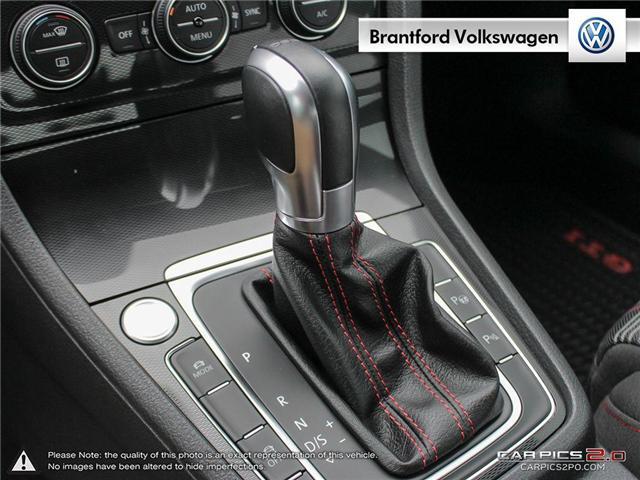 2016 Volkswagen Golf GTI 3-Door Autobahn (Stk: VC14674A) in Brantford - Image 19 of 27