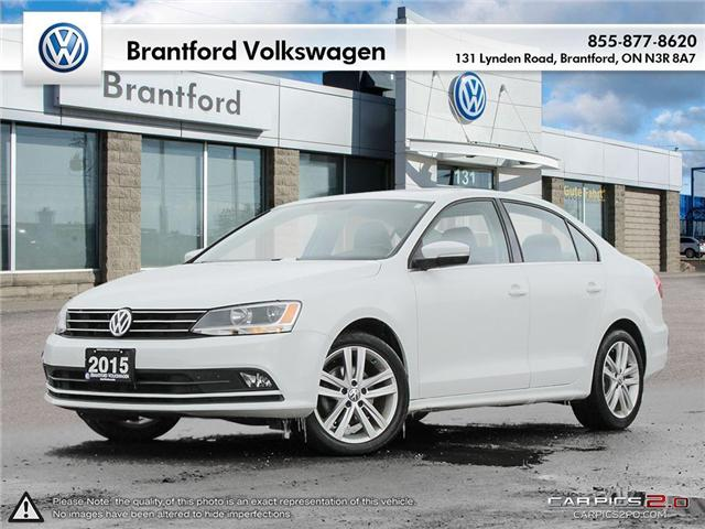 2015 Volkswagen Jetta 1.8 TSI Highline (Stk: P78046) in Brantford - Image 1 of 27