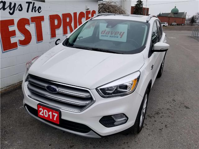 2017 Ford Escape Titanium (Stk: 18-095A) in Oshawa - Image 1 of 16