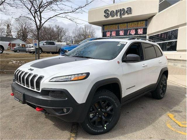 2018 Jeep Cherokee Trailhawk (Stk: 184028) in Toronto - Image 1 of 15
