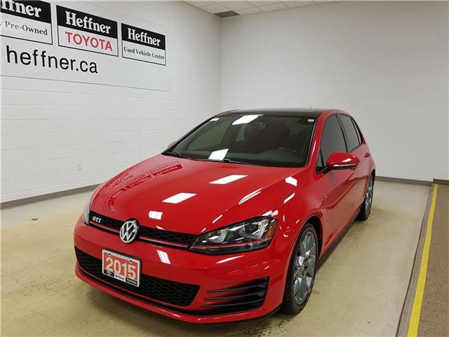 2015 Volkswagen Golf GTI 5-Door Autobahn (Stk: 185160) in Kitchener - Image 1 of 22