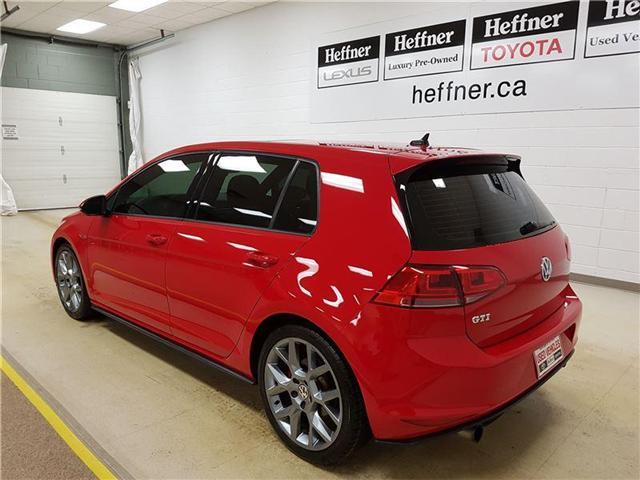 2015 Volkswagen Golf GTI 5-Door Autobahn (Stk: 185160) in Kitchener - Image 6 of 22