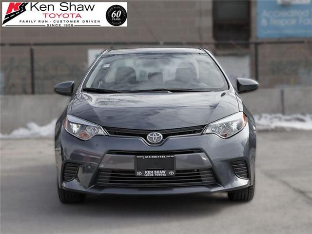 2015 Toyota Corolla LE (Stk: 15079A) in Toronto - Image 1 of 18