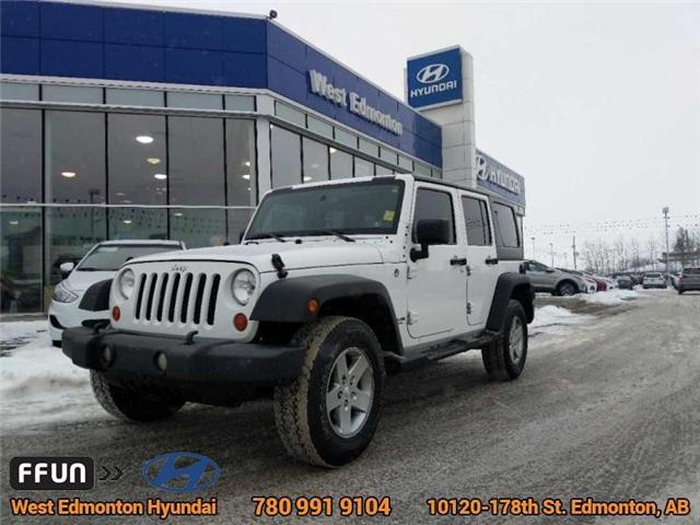 2013 Jeep Wrangler Unlimited Sport (Stk: E3046A) in Edmonton - Image 1 of 21