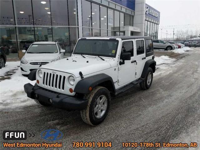 2013 Jeep Wrangler Unlimited Sport (Stk: E3046A) in Edmonton - Image 2 of 21