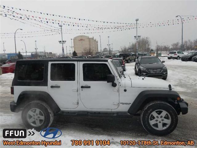 2013 Jeep Wrangler Unlimited Sport (Stk: E3046A) in Edmonton - Image 5 of 21