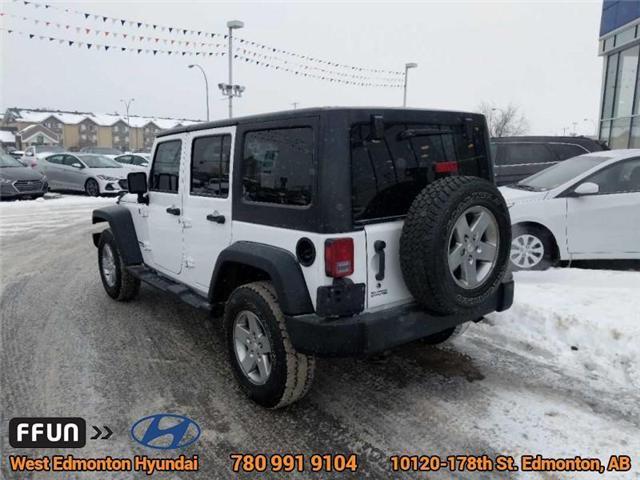 2013 Jeep Wrangler Unlimited Sport (Stk: E3046A) in Edmonton - Image 8 of 21