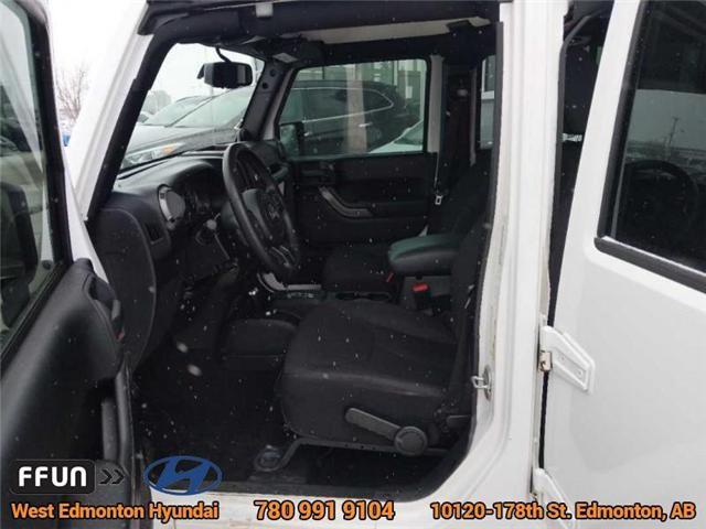 2013 Jeep Wrangler Unlimited Sport (Stk: E3046A) in Edmonton - Image 11 of 21