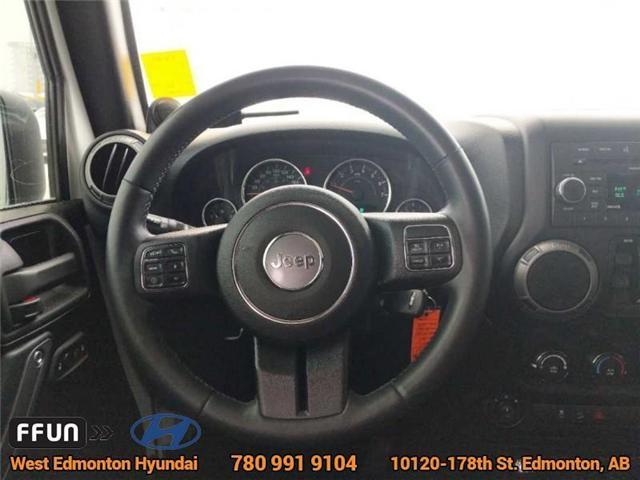 2013 Jeep Wrangler Unlimited Sport (Stk: E3046A) in Edmonton - Image 12 of 21