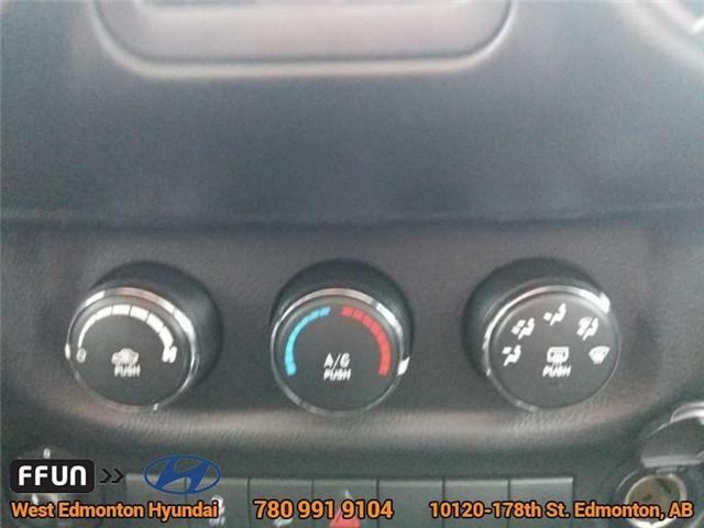 2013 Jeep Wrangler Unlimited Sport (Stk: E3046A) in Edmonton - Image 17 of 21