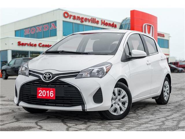 2016 Toyota Yaris LE (Stk: U2880) in Orangeville - Image 1 of 18