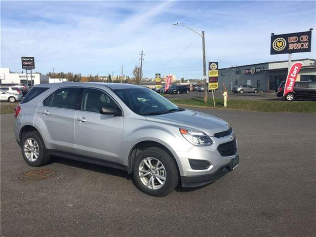 2017 Chevrolet Equinox LS (Stk: 3393D0) in Thunder Bay - Image 1 of 18