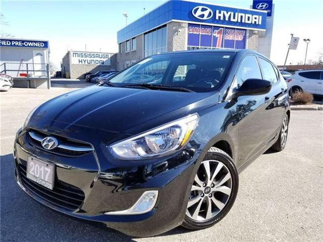2017 Hyundai Accent SESunroof-Alloy rims in very nice condition (Stk: op9715) in Mississauga - Image 1 of 18