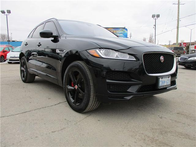 2017 Jaguar F-PACE 35t Premium (Stk: 222222) in Kingston - Image 1 of 19
