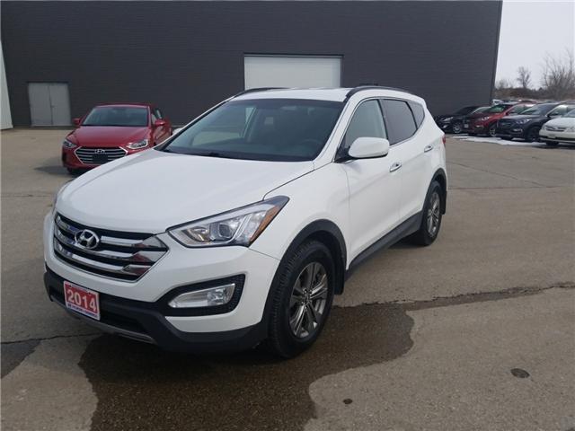 2014 Hyundai Santa Fe Sport 2.4 Premium (Stk: 80062A) in Goderich - Image 1 of 17