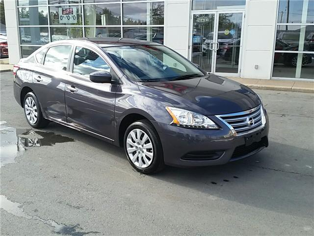 2014 Nissan Sentra 1.8 S (Stk: U922) in Bridgewater - Image 1 of 17