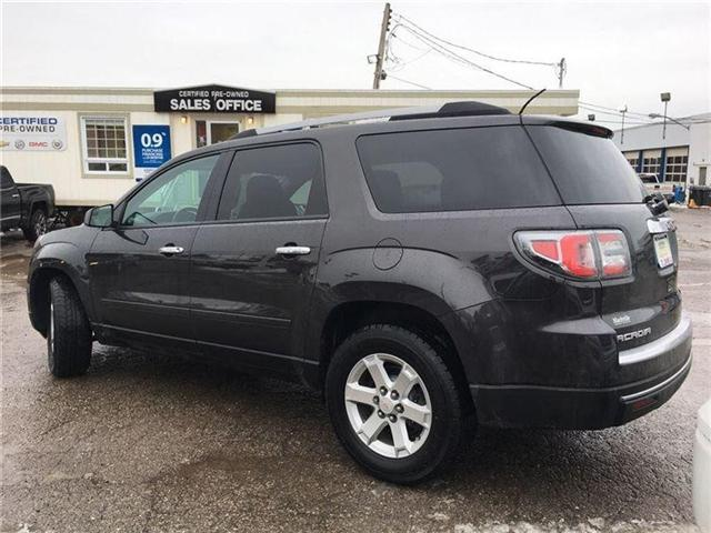 2014 GMC Acadia SLE1 - ONE OWNER TRADE -GM CERTIFIED PRE-OWNED (Stk: 123218A) in Markham - Image 2 of 19