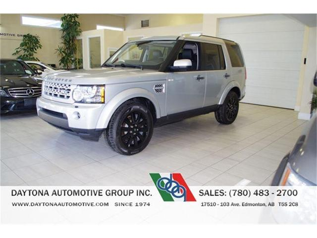 2012 Land Rover LR4 HSE 7 PASSENGER ONLY 76, 000KMS! (Stk: 8980) in Edmonton - Image 1 of 18
