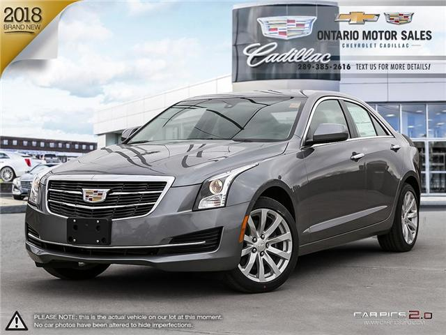 2018 Cadillac ATS 2.0L Turbo Base (Stk: 8155468) in Oshawa - Image 1 of 18