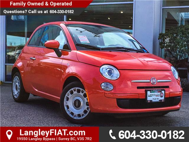 2017 Fiat 500 Pop (Stk: H509179) in Surrey - Image 1 of 26
