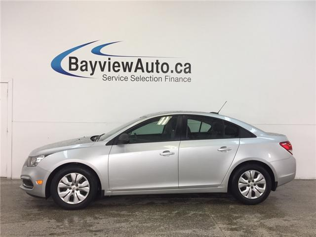2016 Chevrolet Cruze - 1.8L|AUTO|A/C|ON STAR|CRUISE|LOW KM! (Stk: 32203J) in Belleville - Image 1 of 26