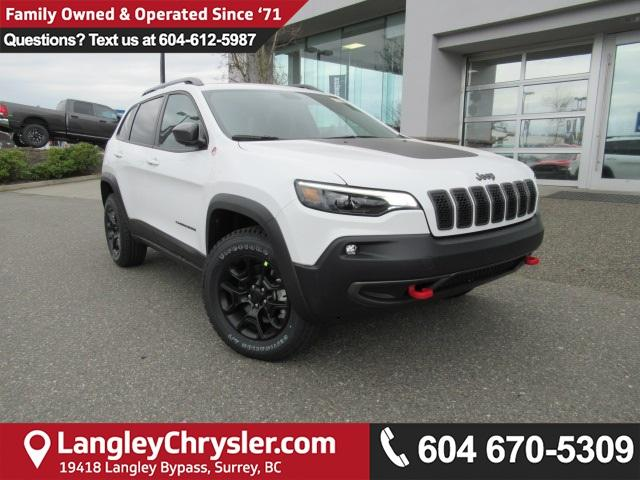 2019 Jeep Cherokee Trailhawk (Stk: K116041) in Surrey - Image 1 of 14
