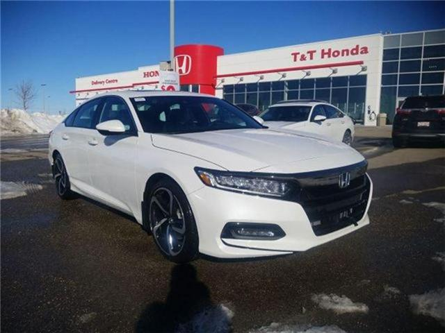 2018 Honda Accord Sport (Stk: 2180615) in Calgary - Image 1 of 9