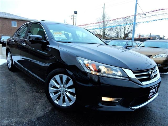 2013 Honda Accord EX-L (Stk: 1HGCR2) in Kitchener - Image 1 of 30