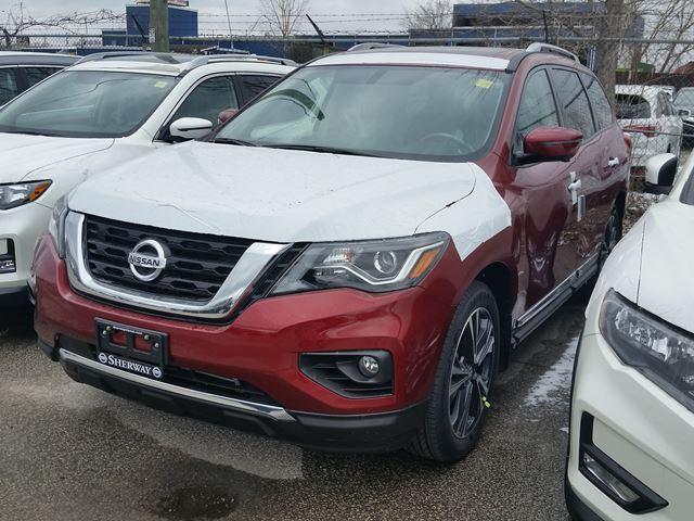 2018 Nissan Pathfinder Platinum (Stk: 518020) in Toronto - Image 1 of 1