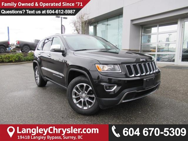 2016 Jeep Grand Cherokee Limited (Stk: EE889950) in Surrey - Image 1 of 26
