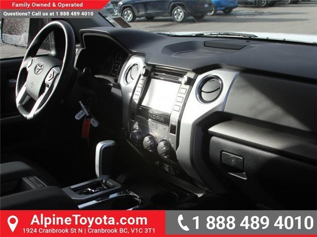 2018 Toyota Tundra SR5 Plus 5.7L V8 (Stk: X022909) in Cranbrook - Image 11 of 16