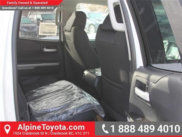 2018 Toyota Tundra SR5 Plus 5.7L V8 (Stk: X022909) in Cranbrook - Image 12 of 16