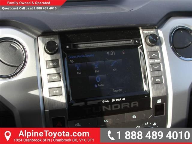 2018 Toyota Tundra SR5 Plus 5.7L V8 (Stk: X022909) in Cranbrook - Image 13 of 16