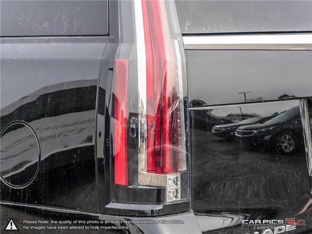 2018 Cadillac Escalade Premium Luxury (Stk: K8K059) in Mississauga - Image 12 of 27