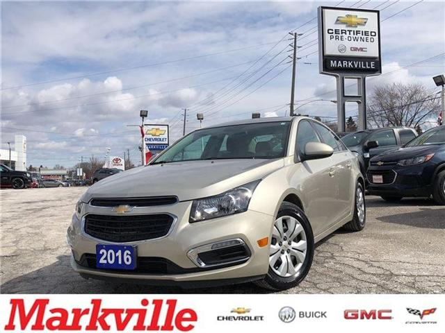 2016 Chevrolet Cruze LT- GM CERTIFIED PRE-OWNED - 1 OWNER TRADE (Stk: 120088A) in Markham - Image 1 of 20
