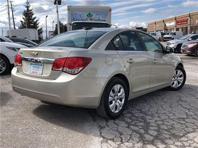 2016 Chevrolet Cruze LT- GM CERTIFIED PRE-OWNED - 1 OWNER TRADE (Stk: 120088A) in Markham - Image 4 of 20
