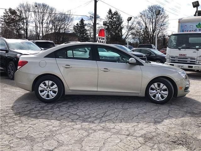 2016 Chevrolet Cruze LT- GM CERTIFIED PRE-OWNED - 1 OWNER TRADE (Stk: 120088A) in Markham - Image 6 of 20