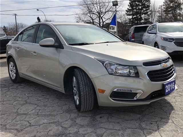 2016 Chevrolet Cruze LT- GM CERTIFIED PRE-OWNED - 1 OWNER TRADE (Stk: 120088A) in Markham - Image 7 of 20