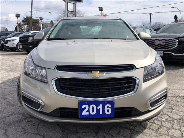 2016 Chevrolet Cruze LT- GM CERTIFIED PRE-OWNED - 1 OWNER TRADE (Stk: 120088A) in Markham - Image 8 of 20